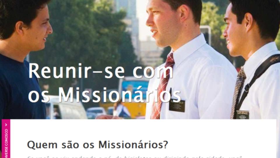 O site www mormon org br está agora disponível também em